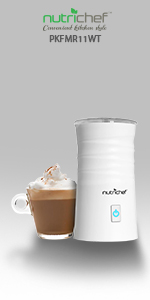 built in wall espresso machine; plug in frother