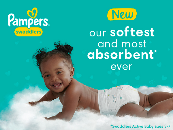 Our softest and most absorbent* ever