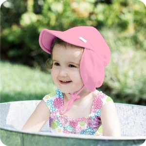 sun hat flap brim protection safety skin baby toddler