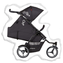 multi seat position for stroller