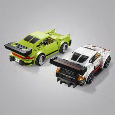 lego speed champions porsche 911 rsr und 911 turbo 3 0. Black Bedroom Furniture Sets. Home Design Ideas