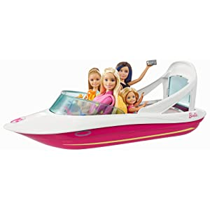 Amazon Com Barbie Dolphin Magic Ocean View Boat Playset