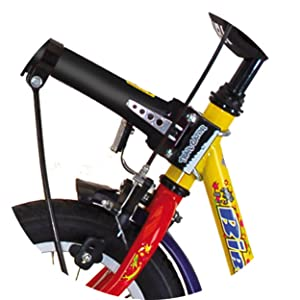 amazon com trail gator children s trailer tow bar black bike