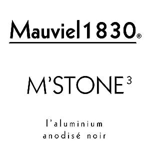 24 cm Cocotte avec CouvercleV Aluminium anodis/é Mauviel1830 Mstone3 863175