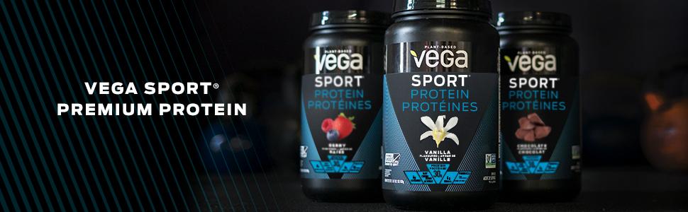 Vega Sport Premium Vegan Plant Based Protein Powder