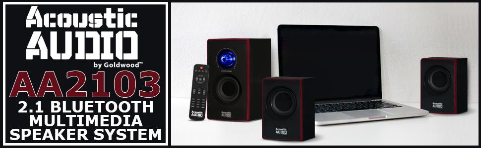 Computer speaker hookups