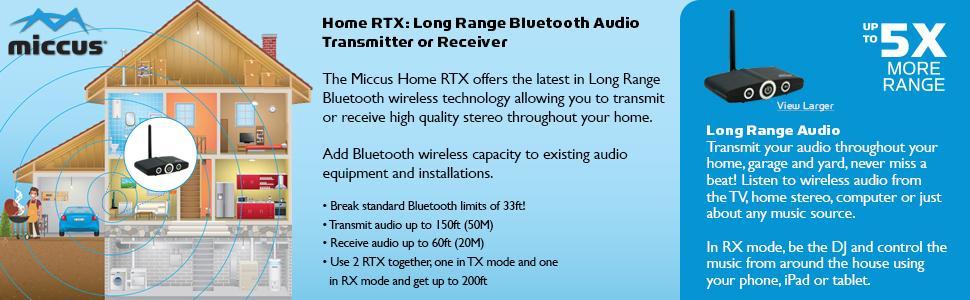 Long Range Bluetooth Transceiver