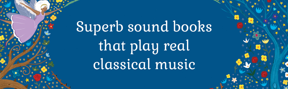 sound books, classical music, children's book, illustrated book, Christmas