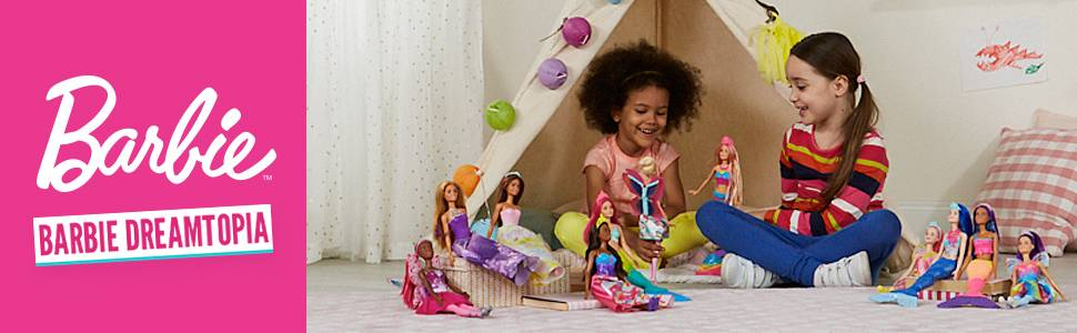 Une poupée Barbie sirène avec queue lumineuse !