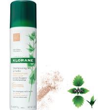 Klorane Dry Shampoo Nettle Tinted