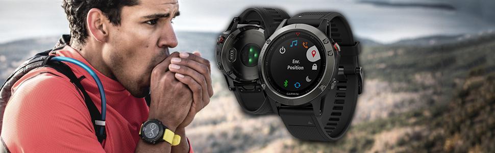 nouvelle fenix 5, montre GPS multipsorts