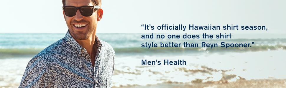 Reyn Spooner, Mens health