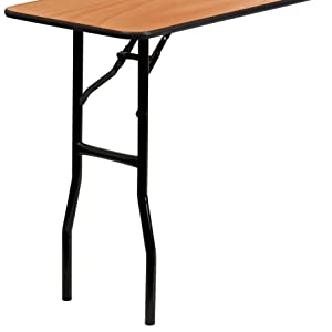 sturdy training folding table