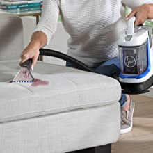 scrub remove tough stains carpet upholstery stairs
