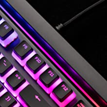 Signature light bar & dynamic RGB lighting effects
