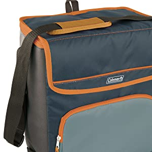 cool box coleman bag lunch picnic beach with cooler family insulated