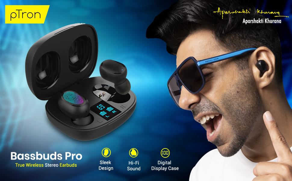 pTron Bassbuds Pro in-Ear True Wireless Bluetooth Headphones