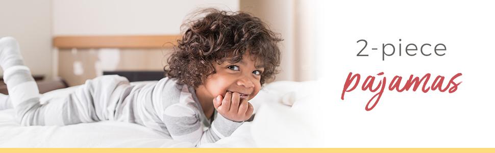 Burts Bees Baby PJ Pajamas Toddler 12 Month 7 Years Boys Girls Uniex Jammies Organic Cotton 2-piece