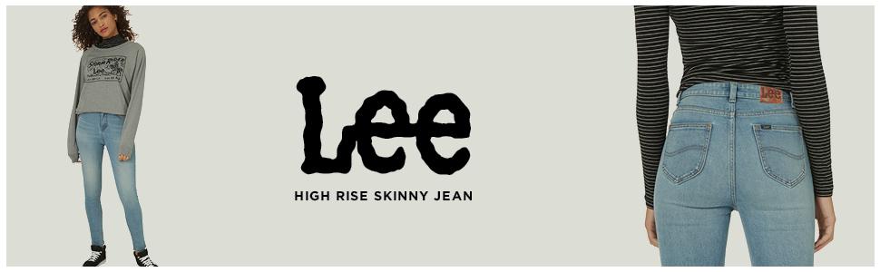 Lee Women's High Rise Skinny Jean