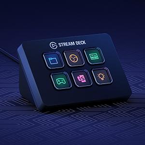 Elgato Stream Deck Mini - Controlador para creación de contenido en directo con 6 teclas LCD personalizables, para Windows 10 y macOS 10.13 o posteriores, Negro: Amazon.es: Informática