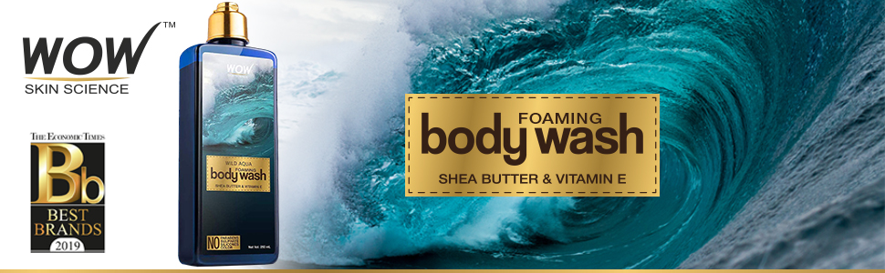 WOW Wild Aqua Foaming Body Wash