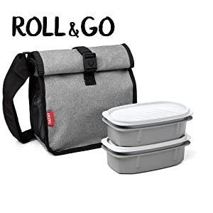 Tatay Urban Food Mini bolsa térmica porta alimentos con fiambrera ...
