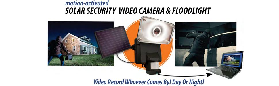 maxsa motion activated camera; floodlight