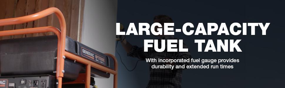 fuel tank, large capacity