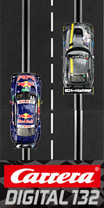 Carrera Digital 132 Slot Car Racing Race Track Set System 1:24 Scale Track and 1:32 Scale Cars