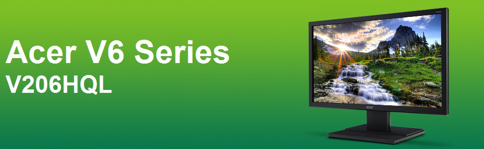 Acer V206HQL HD+ 1600 x 900 Display Monitor