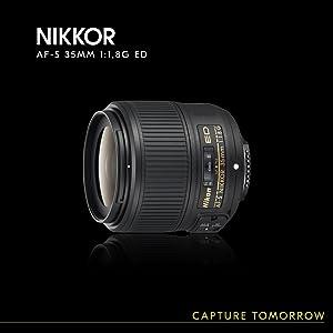 Nikon Af S Nikkor F 1 8g Ed Lens Camera Photo