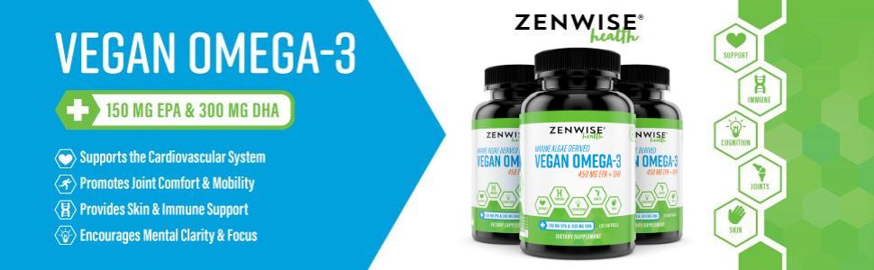 vegan omega 3 supplement