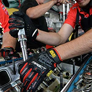 Mechanix Wear M-Pact Work Gloves, mechanic gloves, mpact gloves, mechanix gloves, gloves