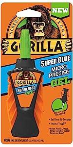 Gorilla Micro Precise Super Glue Gel