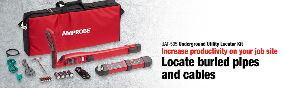 amprobe, UAT-505, underground utility locator