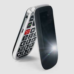 flip phone flashlight