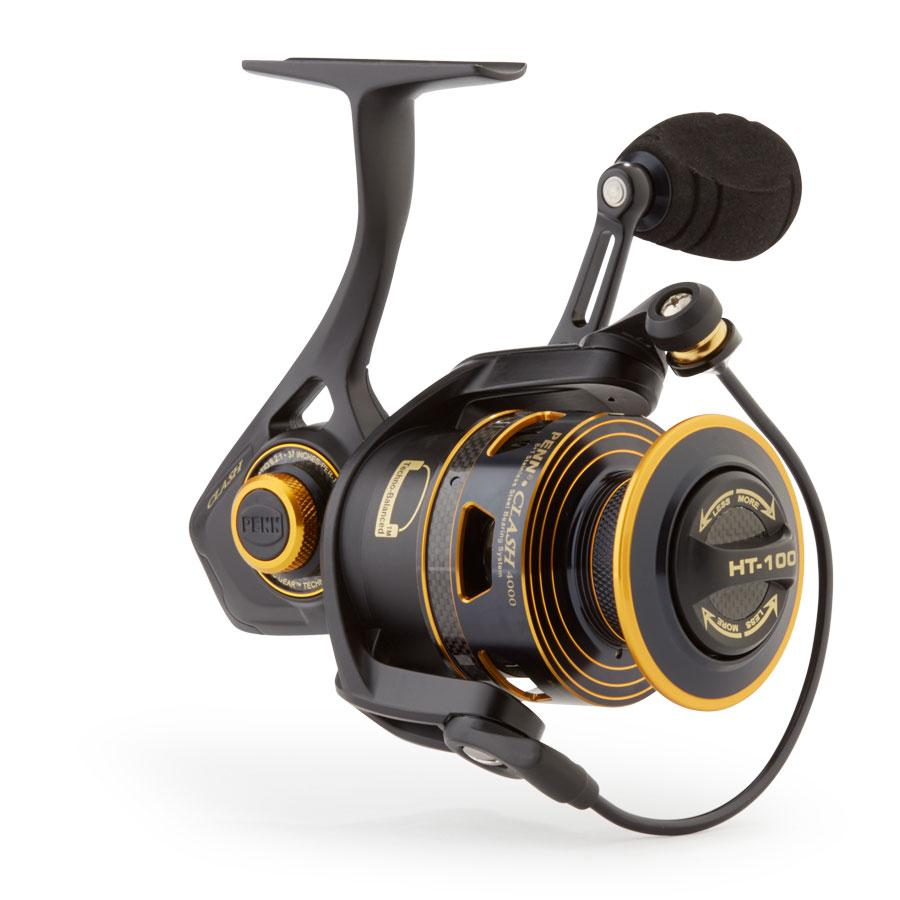 Penn cla4000 clash spinning reel spinning reels amazon for Amazon fishing reels