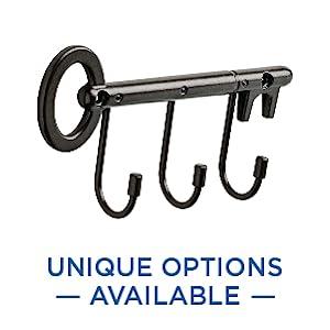 Unique Hook Rail Options