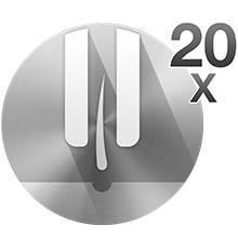 Braun Silk-épil 3 3-270 Épilateur/ Épilation + Rouleaux de Massage