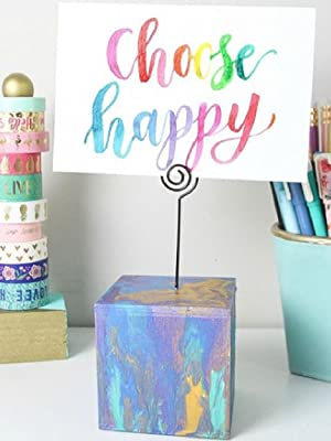 choose happy card in pinwheel card holder