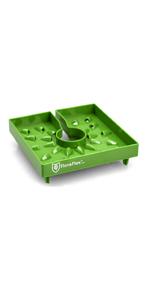 Green 3-Pack FloraFlex FF343 PotPro 6 Pot