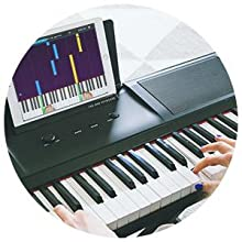Electronic Keyboard, one piano, piano one, 61 key keyboard, midi keyboard