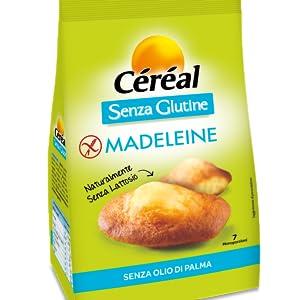 Madeleine senza glutine, madeleine senza lattosio, dolci senza glutine, dolci senza lattosio