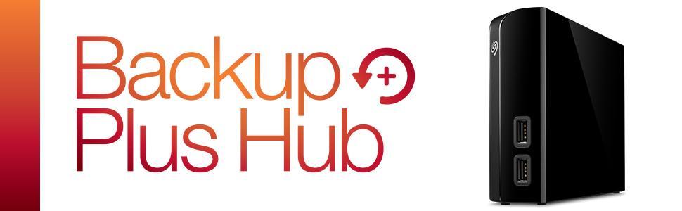 Seagate Backup Plus HUB - disco duro externo