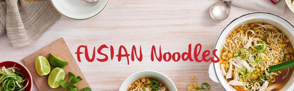 Maggi Fusian noodles banner