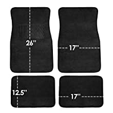 WELLFLYHOM African American Woman Floor Mats for Car for Women Girly Carpet Mat Heavy Duty Rubber Non-Slip All Weather Protection,Universal Fit for Car SUV Van /& Truck Set of 4,Hotpink