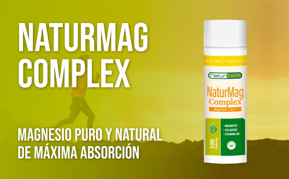 5 Sales de Magnesio + Colágeno + Vitamina B6 | Fortalece Músculos y Articulaciones | Elimina Calambres y Contracturas Musculares | Optimiza el ...