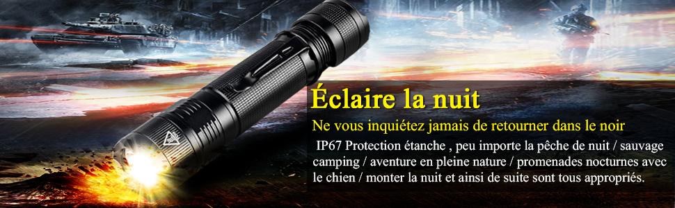 Modes Torche Ip67etanche 800 Cree S3 Lumens Led Rechargeable Militaire Lampe Puce TorcheLa D'éclairage Brillante Xpg2 5 PuissanteUsb Ultra eH2DYWE9I