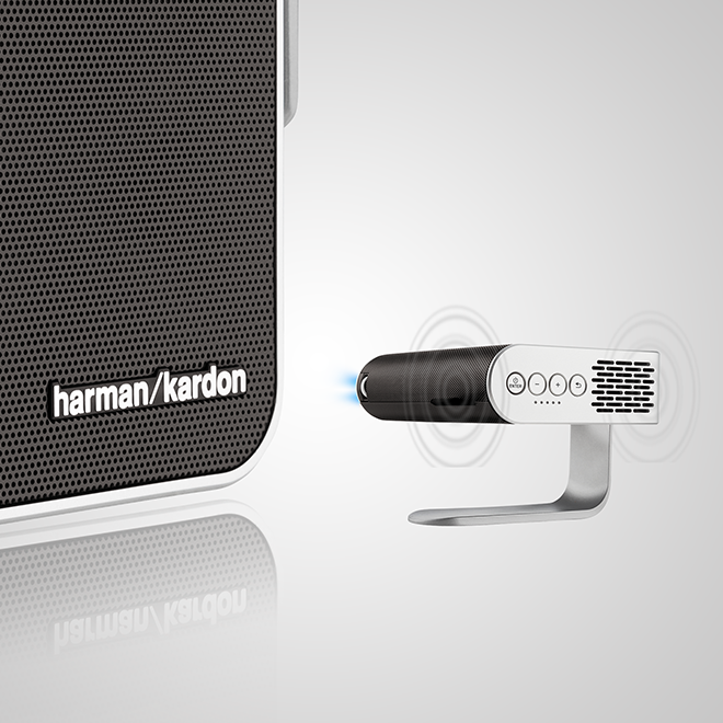 Viewsonic M1 Portable Projector 854 X 480 With Dual Harman Kardon