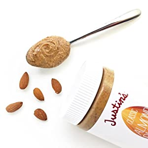 Classic Almond Butter on a spoon